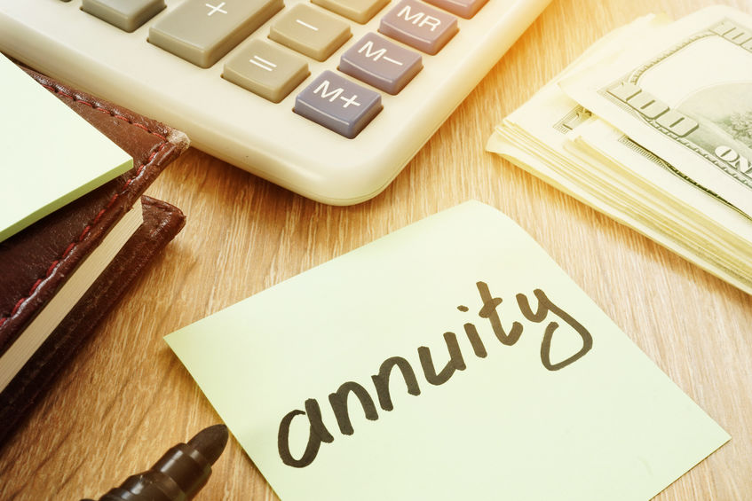 Annuity Post It Note